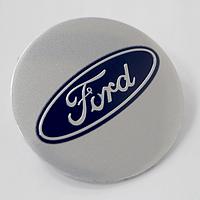 Наклейки на литые диски Ford 56,5 мм выгнутые