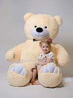 Плюшевый медведь бежевый 200 см