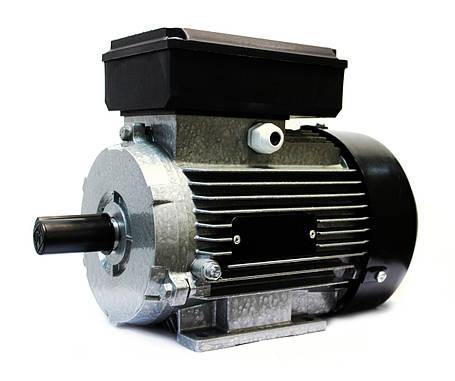 Однофазный электродвигатель АИ1Е 80 А4 У2 (0,75 кВт, 1500 об/мин), фото 2