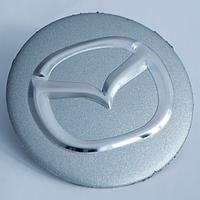 Наклейки на литые диски Mazda 56 мм выгнутые