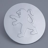 Наклейки на литые диски PEUGEOT 56 мм выгнутые