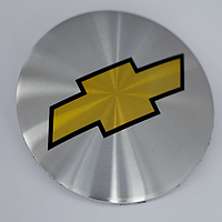 Наклейки на литые диски Chevrolet 60 мм выгнутые