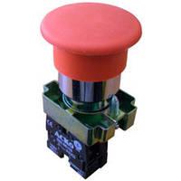 """Кнопка """"грибок"""" (д 40мм) """"Стоп"""" красн.XB2-BС42"""