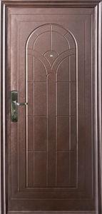 """Двери входные """"М-017 """" металлические"""