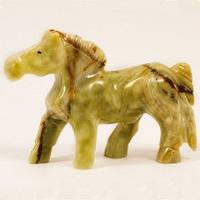 Лошадь, статуэтка, оникс,13х10 см, Оригинальные подарки, Днепр