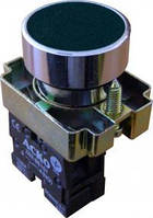 "Кнопка ""Старт"" черная NO+NC.(XB2-EA125) АСКО"