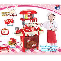 Кухня детская TY8018RP со звуком и водой, красная