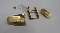 Держатель D1379 П/НАКЛАДКА золото 20 мм
