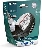 Ксеноновые лампы Philips Xenon X-tremeVision gen2 ➤ D4S ➤ Видимость на 150 % лучше ➤ Бесплатная доставка!