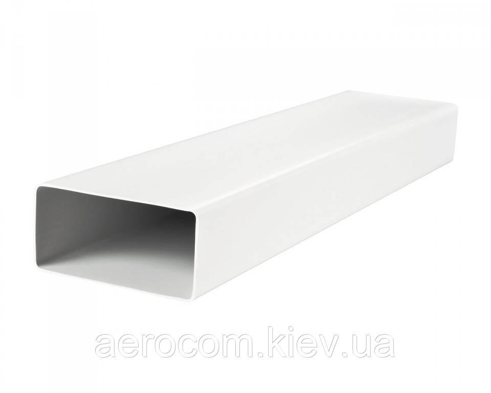Воздуховод плоский пластиковый Пластивент -110*55мм