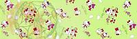 """Комплект постельного белья из бязи GOLD Люкс ТМ """"Ловец снов"""", Котенок Китти с цветочком"""