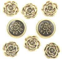 Пуговицы фигурные «Victorian Rose» Buttons Galore