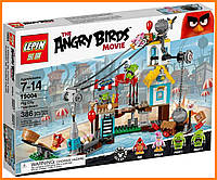 Конструктор Lepin Angry Birds 19004 Разгром Свинограда 386 деталей