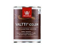 Лазурь-лак антисептический TIKKURILA VALTTI COLOR для древесины, 0,9л