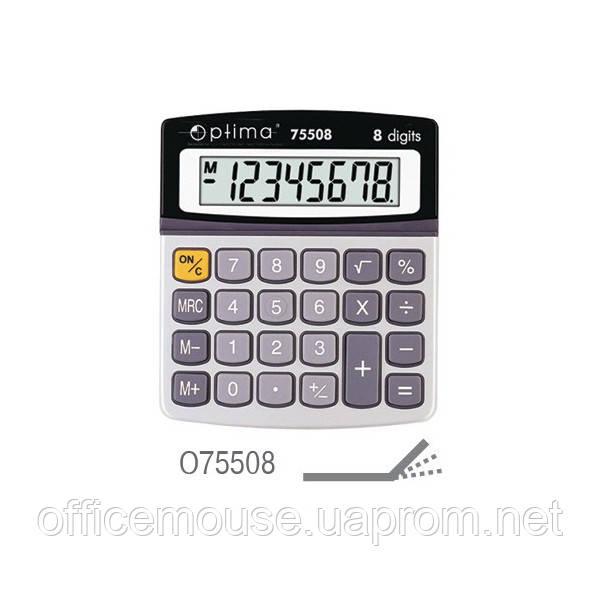 Калькулятор Оптіма 75508,8 розрядів