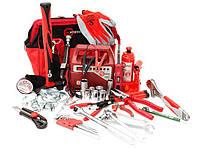 Набор инструментов для автомобиля Авто-помощник INTERTOOL BX-1002 35 предмета, фото 1