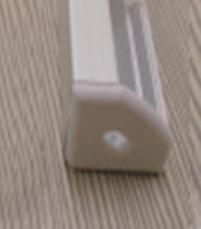 Алюминиевый профиль для светодиодной ленты угловой LL № 17 (1 метр), фото 3