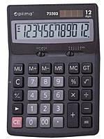 Калькулятор 12разрядный,Оптима 75503,Германия