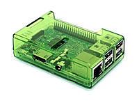Корпус для Raspberry Pi B+ / Raspberry Pi 2 B / 3B зелений прозорий, фото 1