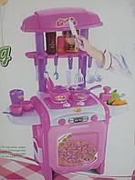 Кухня детская TY8018RP со звуком и водой, розовая