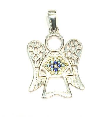 Серебряная подвеска Ангел