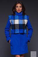Пальто с сьемным балеро