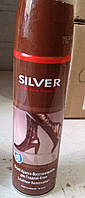 Спрей краска-восстановитель Silver для гладкой кожи 250 ml.