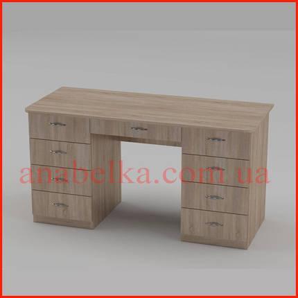 Недорогой  офисный  стол Учитель -3  (Компанит), фото 2