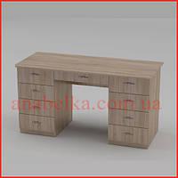 Недорогой  офисный  стол Учитель -3  (Компанит)