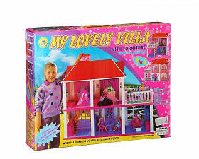 Кукольный Домик 5 комнат My Lovely Villa 6980