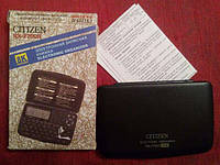 Электронная записная книжка Citizen 2700