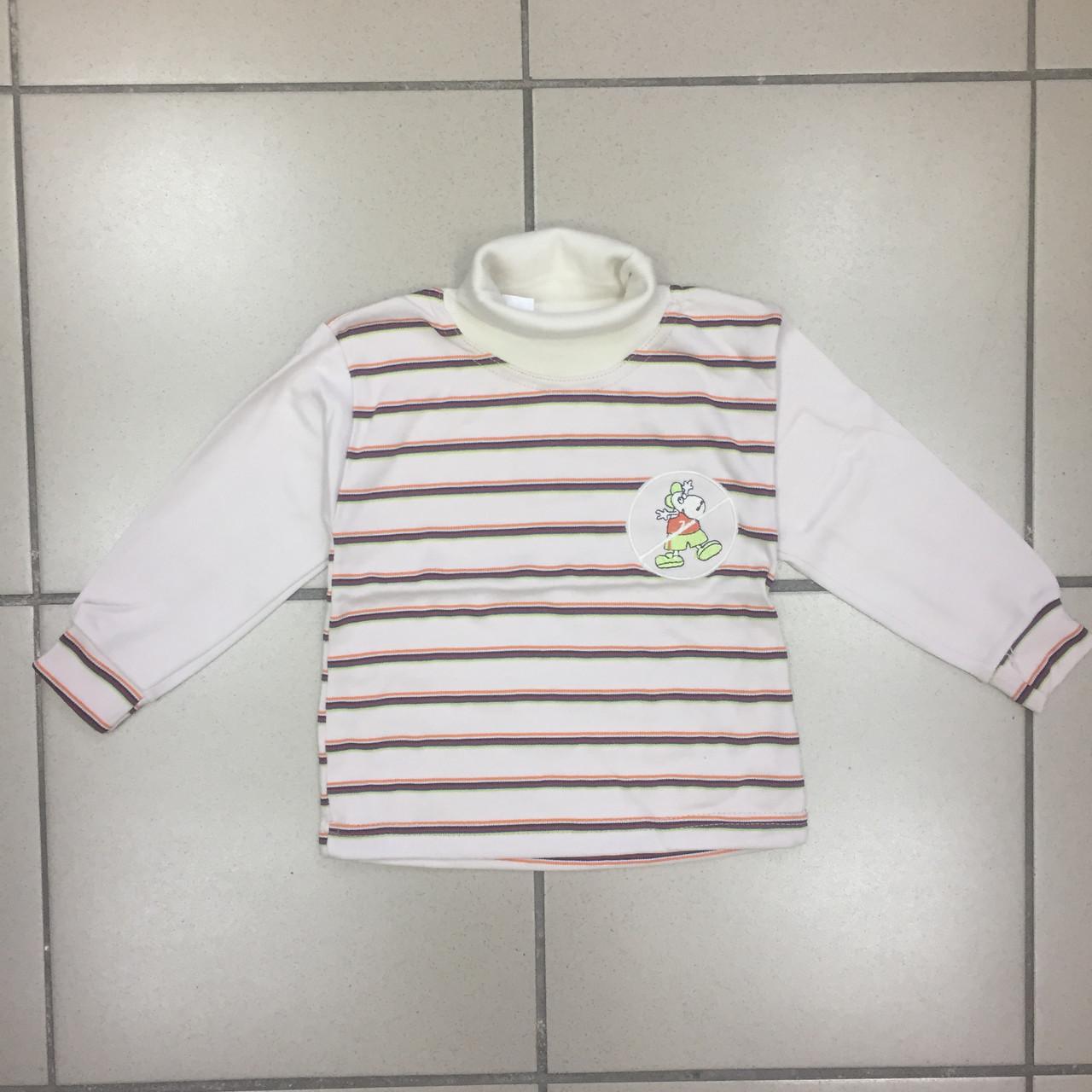 Детский Гольф теплый для мальчиков Размер 1/2  года