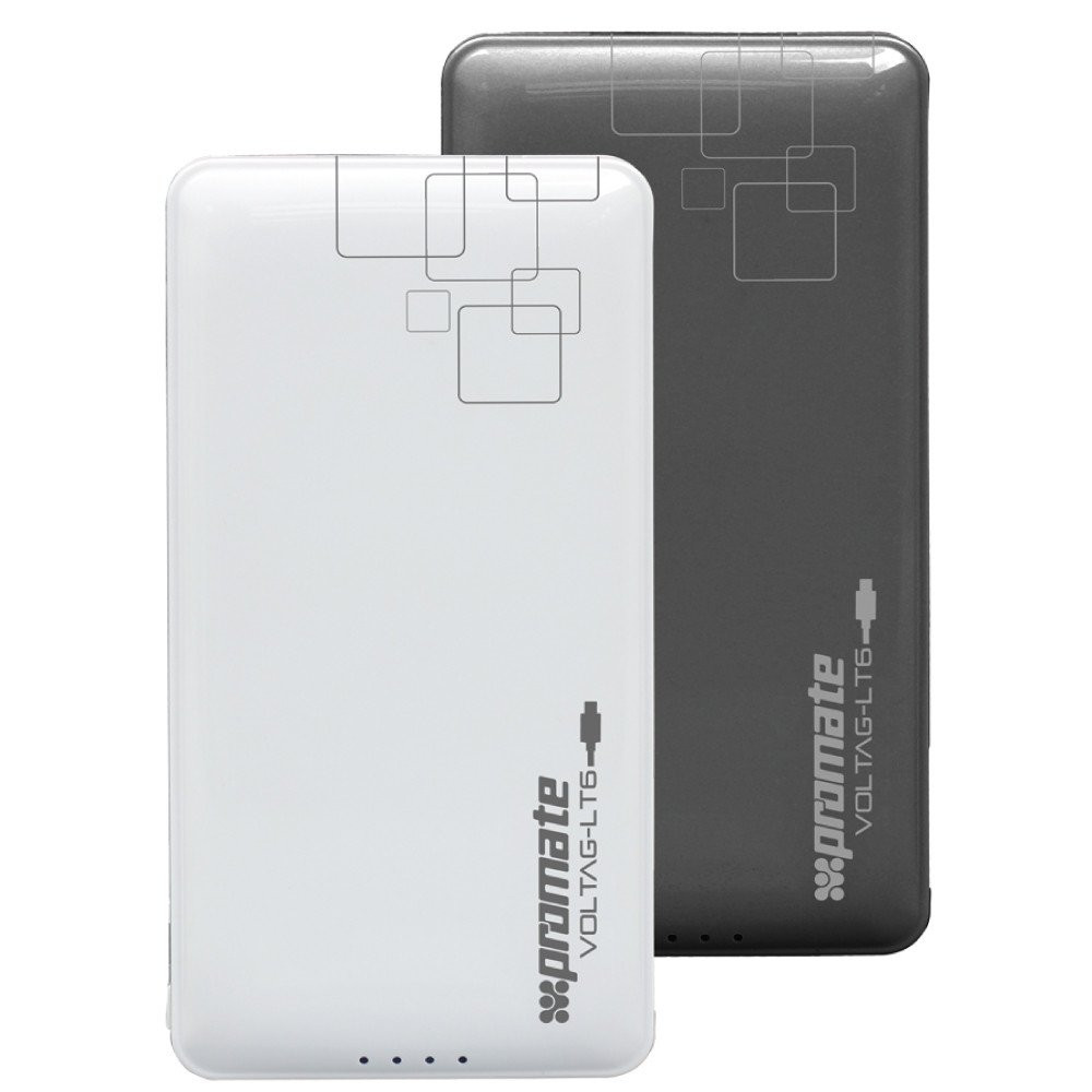 Компактный аккумулятор Promate VolTag-LT6 Black