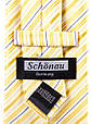 Чоловічий шовковий галстук SCHONAU & HOUCKEN FARESHS-109 жовтий, фото 3