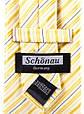 Мужской шелковый галстук SCHONAU & HOUCKEN FARESHS-109 желтый, фото 3