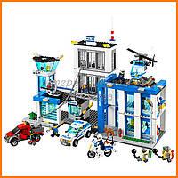 """Конструктор Bela 10424 (агалог Lego City 60047) """"Полицейский участок"""", 890 дет"""