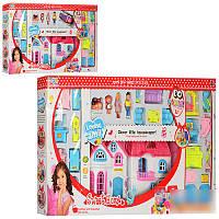 Кукольный домик Sweet Home 3918-3918-1, мебель, 4 фигурки, звуковые и световые эффекты, 2 вида, 3+