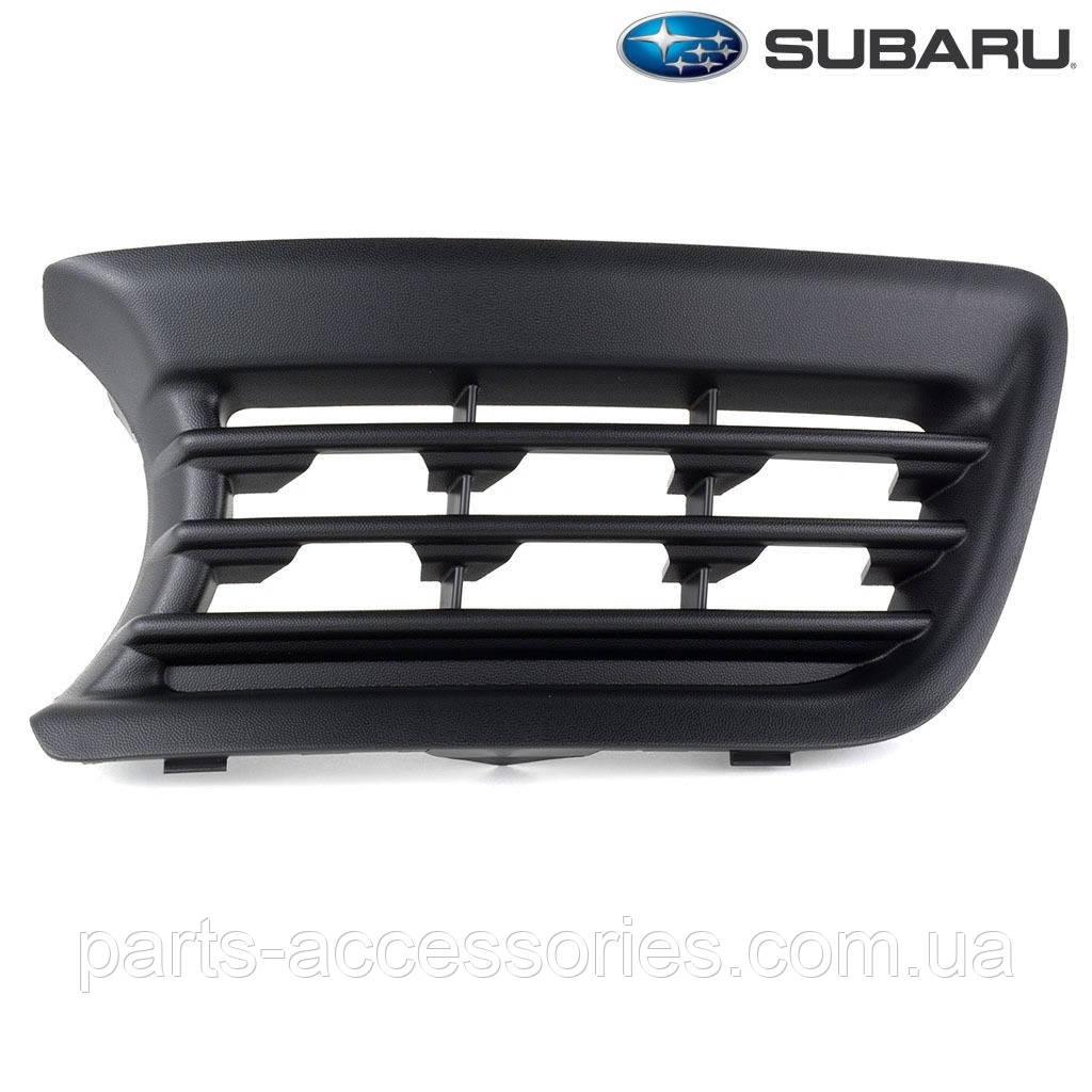 Решетка в передний бампер правая Subaru B9 Tribeca 2006-2007 новая оригинал