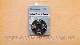 Audi Q7 2010-17 Carbon карбоновые колпачки на ниппеля дисков новые оригинал