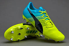 Бутсы Puma evoPOWER 1.3 Mixed SG 103525-01 Пума эвоповер (Оригинал)