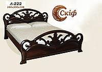 Кровать деревянная Л-222 1,6