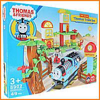 """Конструктор - железная дорога 8902 """"Паровозик Томас"""" (Thomas and Friends) 49 дет"""