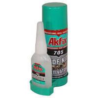 Клей с активатором Akfix 705 200+50гр.