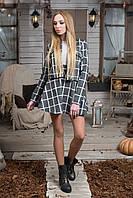 Костюм пиджак юбка из шерсти