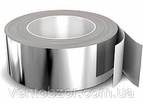 Скотч алюминиевый 50*50 м. толщина 30 микрон