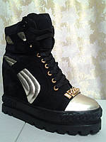 Женские демисезонные ботинки,сникерсы Fabrica