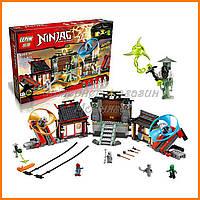 "Конструктор Lepin 06033 Ninja (аналог Lego Ninjago 70590) ""Боевая площадка для аэроджитцу"" 723 дет"