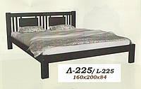 Кровать деревянная Л-225 1,8