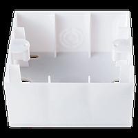 Коробка для наружного монтажа одинарная (белый)  Viko Karre