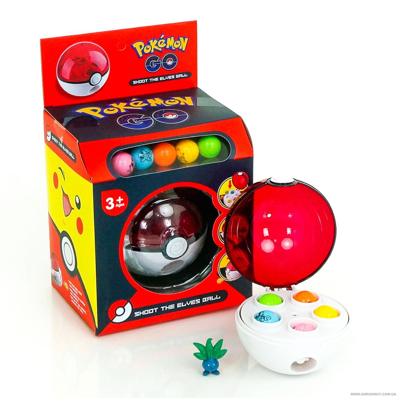 """Мяч 8180-7 """"Покемон""""в коробке, d=9 cм"""